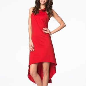 NWT Pepe Runa beautiful red dress Poland
